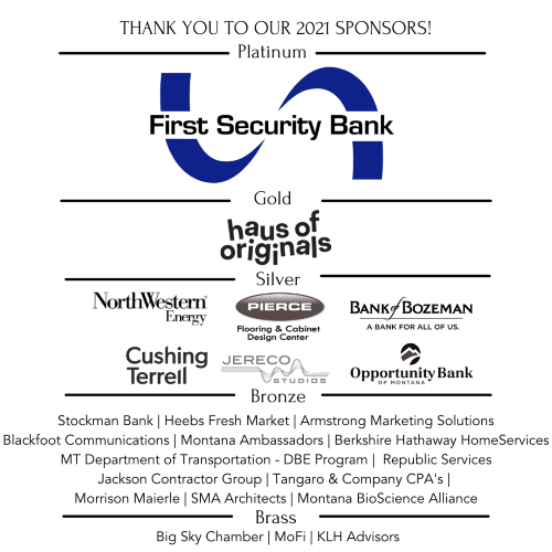 2021 Business Awards Luncheon Sponsors