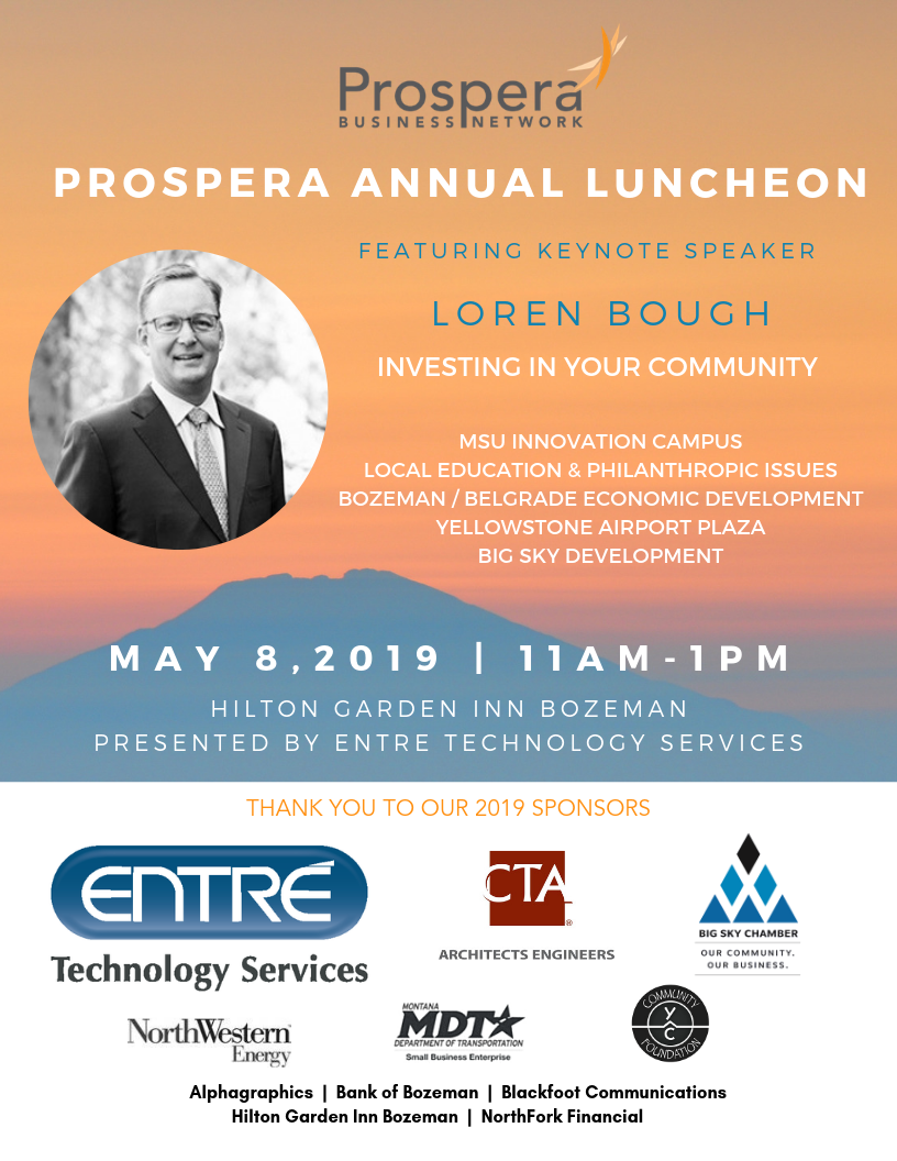 8 5X11 2019 Luncheon Invitation