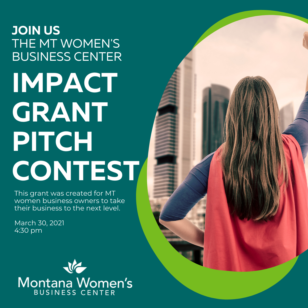 Impact Grant Pitch Contest Graphic